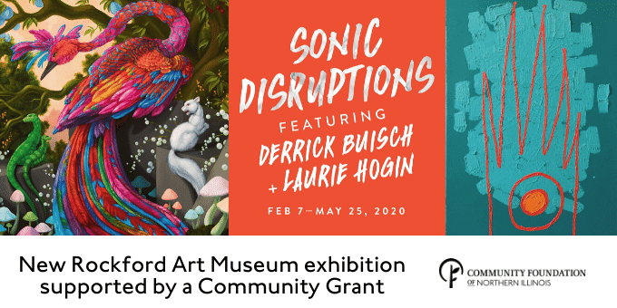 Sonic Disruptions art exhibition supported by a CFNIL Community Grant