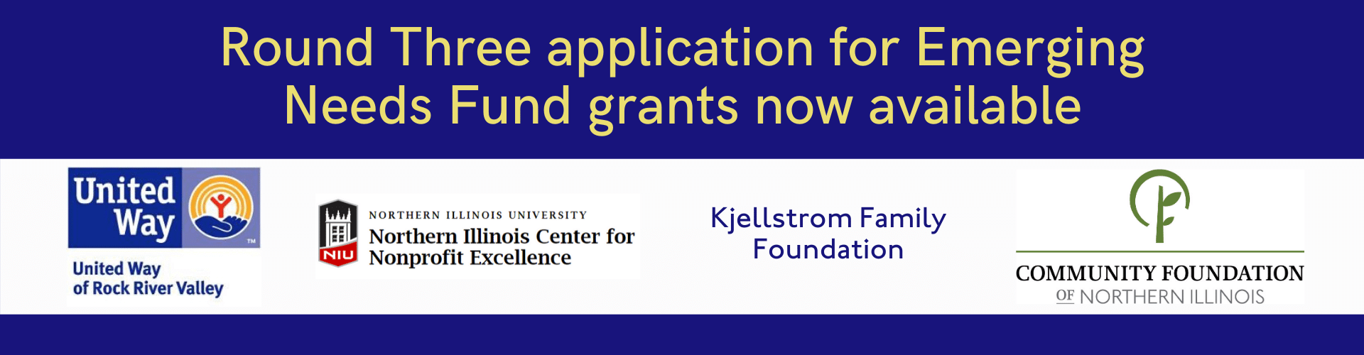 Round Three Application for Emerging Needs Fund Grants Now Available