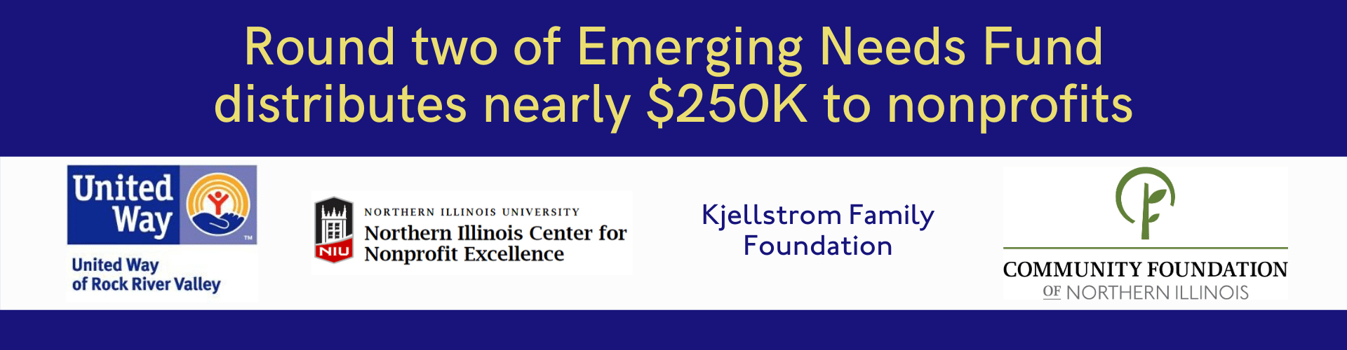 Round Two of Emerging Needs Fund distributes nearly $250,000 to 31 Nonprofits