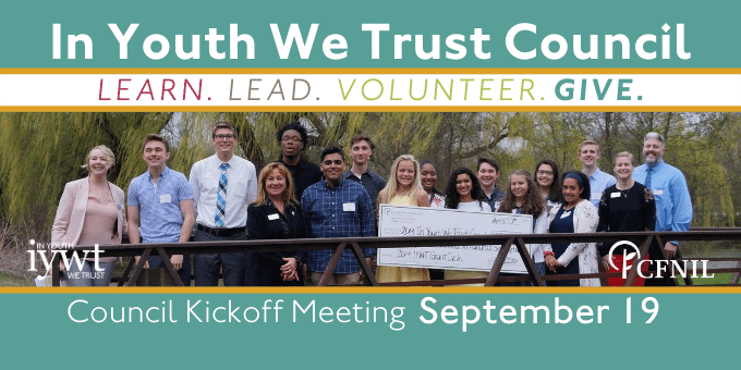 In Youth We Trust Council seeks new members