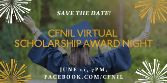 Save the date for the CFNIL Scholarship Award Night