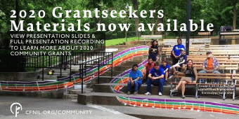 2020 Grantseekers Meeting Materials now available