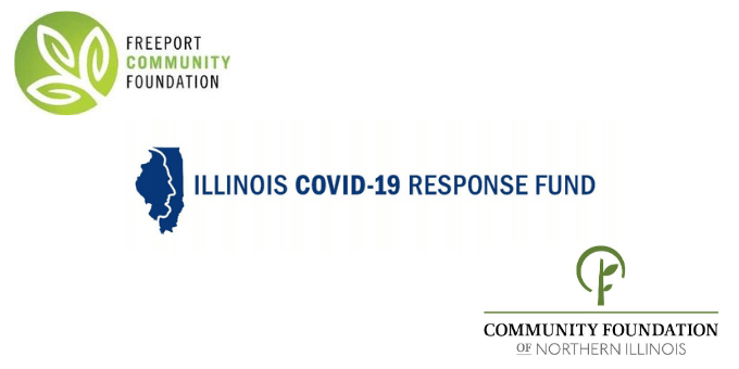Freeport Community Foundation, Community Foundation of Northern Illinois Award $60,000 in Illinois COVD-19 Response Fund Grants to Nine NWIL Non-Profits