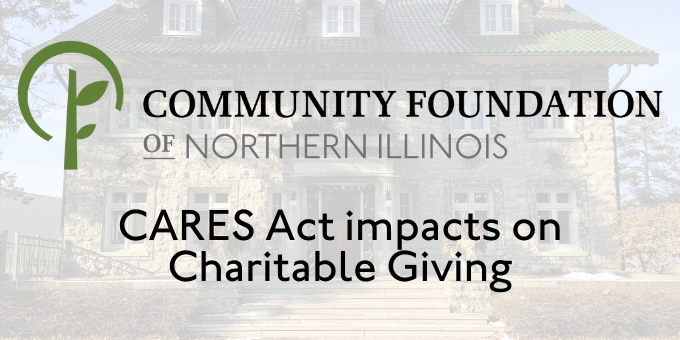 Coronavirus Aid, Relief and Economic Security (CARES) Act - Impact on Charitable Giving