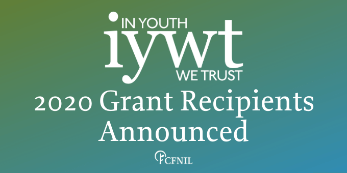 In Youth We Trust 2020 Grants Recipients Announced